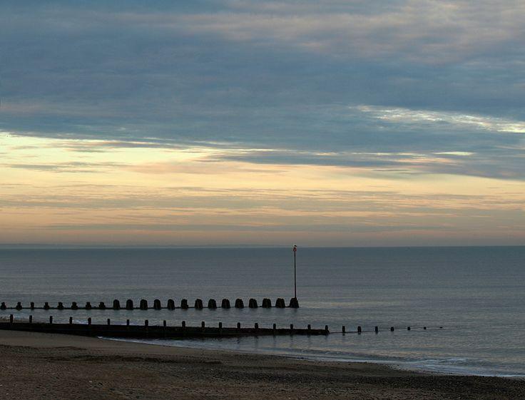 Hornsea Beach Sunset by Tom Wood