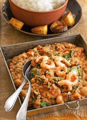 Kamerunilainen katkarapukastike marttojen nettisivulta http://www.martat.fi/ruoka/reseptit/katkarapukastike/