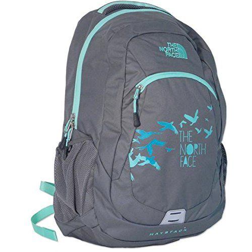 The North Face Haystack Backpack (Zinc Grey/Surf Green)
