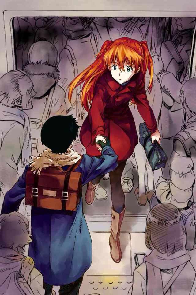 Shinji x Asuka    romance