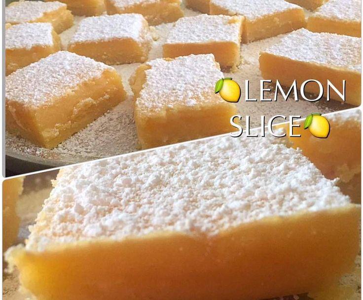 Recipe Kazza's Lemon Slice by caroldupreez - Recipe of category Baking - sweet