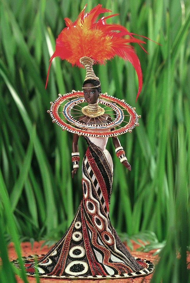 Barbie Fantasy Goddess of Africa - 1999