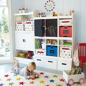 Canvas Storage CubesPlayrooms Ideas, Kids Bedrooms, Playrooms Storage, Bedrooms Storage, Northcote Playrooms, Plays Room, Bedrooms Furniture, Storage Ideas, Toys Storage