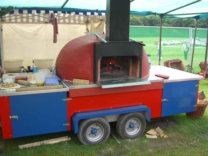 Bread Oven Mobile | My Wood Burning Pizza Oven: Another Portable Oven   In  CA | Bread Ovens | Pinterest | Bread Oven, Oven And Pizzas