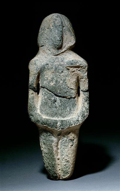 Iran du Sud-Est -   Statuette humaine Fin du VIe millénaire avant J.-C.  | Site officiel du musée du Louvre