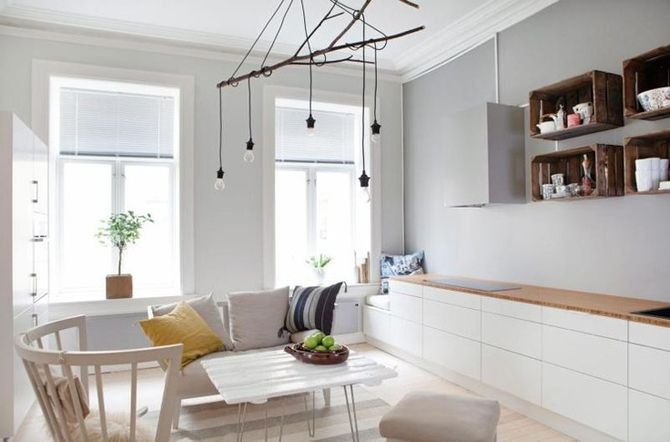 Scandinavian simplicity. Love it!