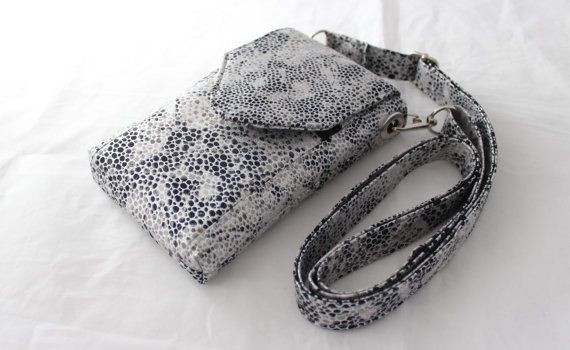 Cell phone bag mobile phone bag iphone ipod Galaxy by Tracey Lipman, $35.00