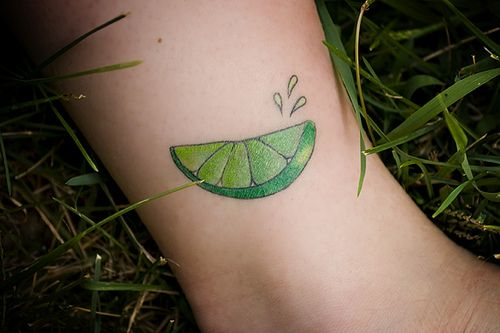 lime slice tattoo to represent lymes disease tattoo resources pinterest tattoo. Black Bedroom Furniture Sets. Home Design Ideas