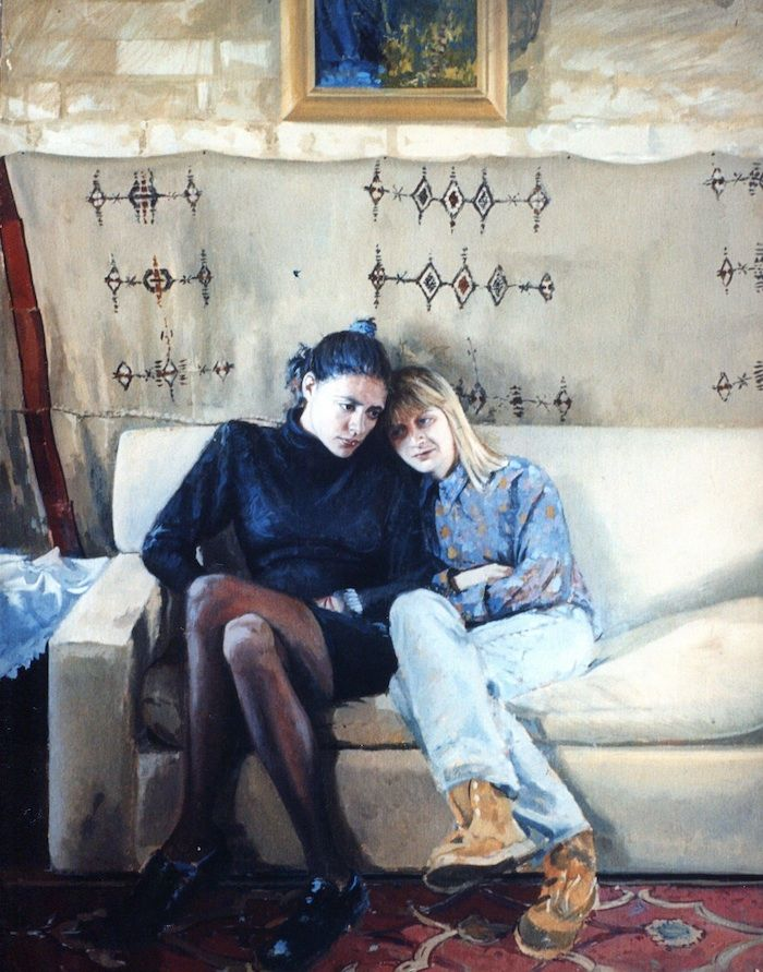 Jason Sullivan's portrait paintings, group portraits and single portraits, prices, biography and method of working