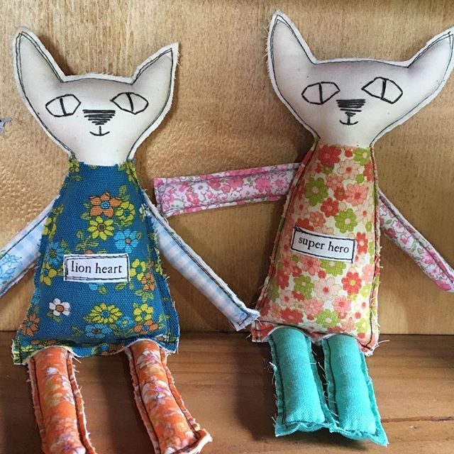 Cat dollies...because we need all the help we can get with mouse control right now...