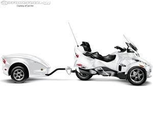 2011 Can-Am Spyder RT.  totally want the trailer to go with our Cam-Am!