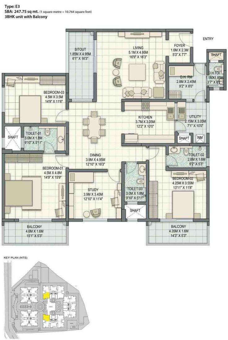 Hong Kong Apartment Floor Plan Tower 1 4 Bhk Floor Plan Type 1 Full Size Of Uncategorized Interior D Floor Plans Apartment Floor Plan Modern Floor Plans