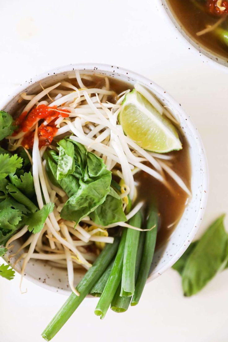 Sharing a recipe for a paleo zucchini noodle pho bowl from the new Big 10 Paleo Spiralizer Cookbook. 100 easy and healthy recipes.