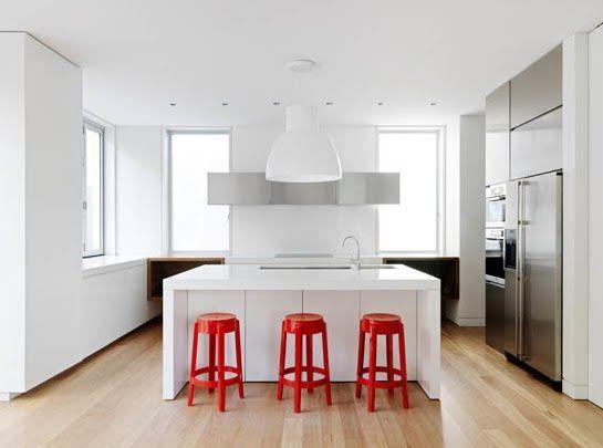 Design Idea Red Interior Accents