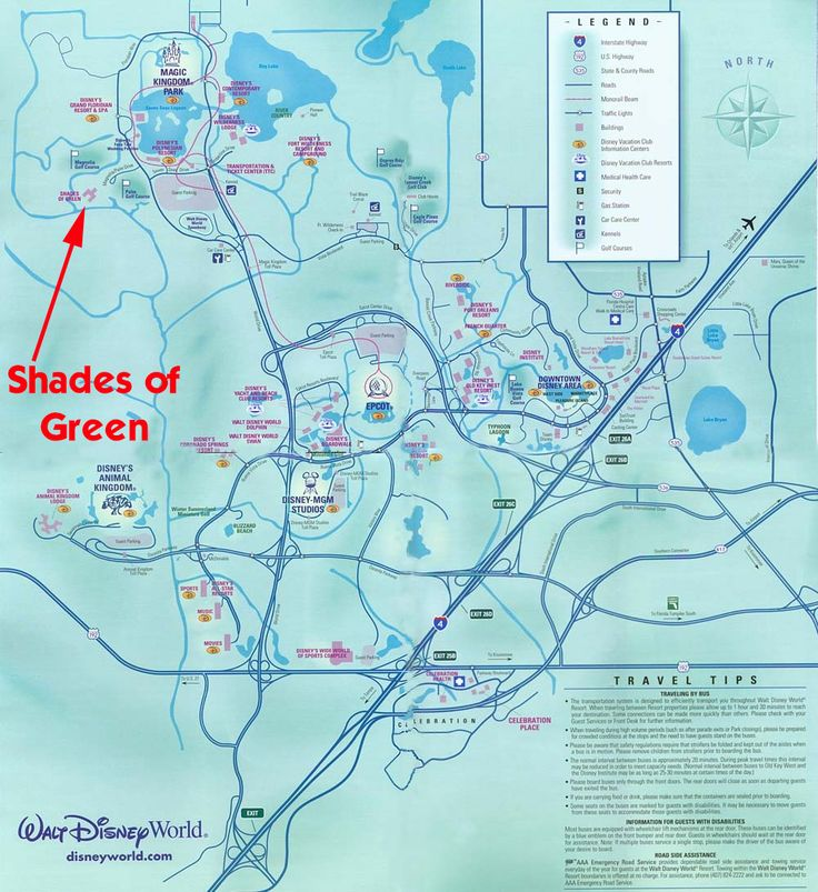 WDW Prep School • A review of Shades of Green Resort