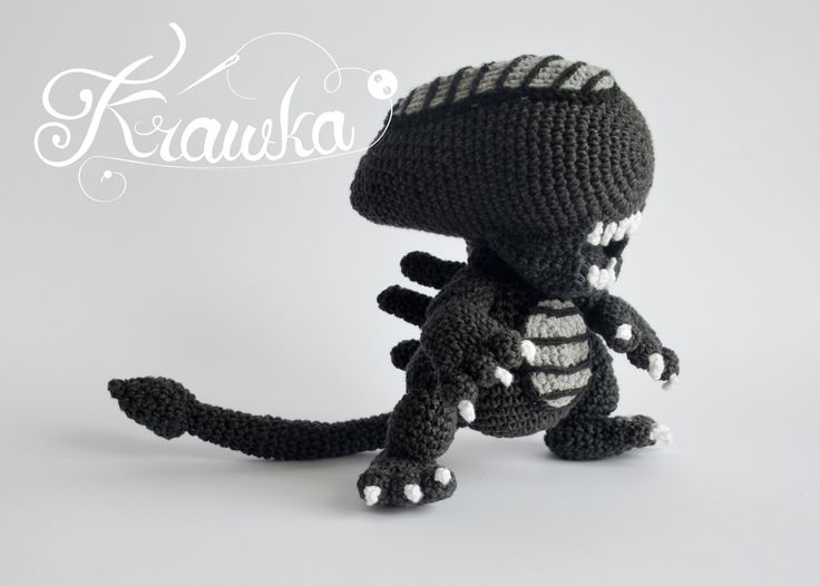 Xenomorph Knitting Pattern : 25+ Best Ideas about Amigurumi on Pinterest Crochet ...