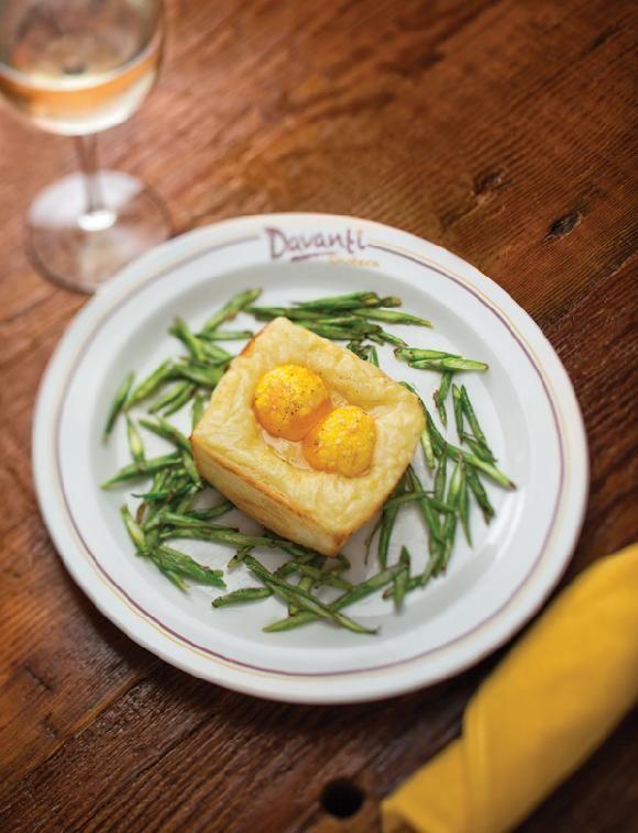 Truffle Egg Toast + Fontina + Asparagus from Davanti Enoteca ...