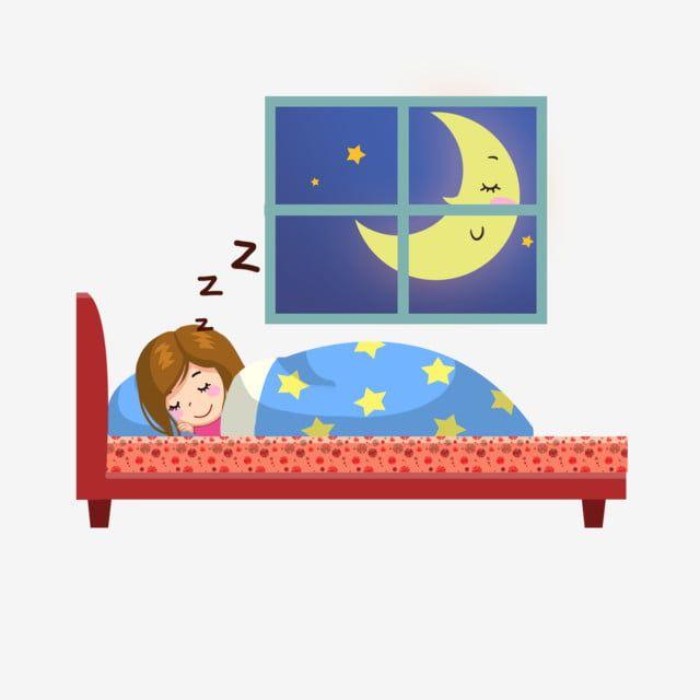 فتاة نائمة نائمة نائمة نائمة السرير فتاة نائمة النوم Png وملف Psd للتحميل مجانا Sleep Cartoon Cartoon Illustration Girl Sleeping