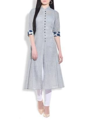 Check out what I found on the LimeRoad Shopping App! You'll love the Stone blue flared lung jute kurta. See it here http://www.limeroad.com/products/9772869?utm_source=a51ad71abd&utm_medium=android