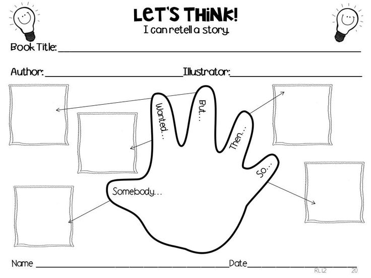Graphic organizers to help 1st graders think about and respond to ...