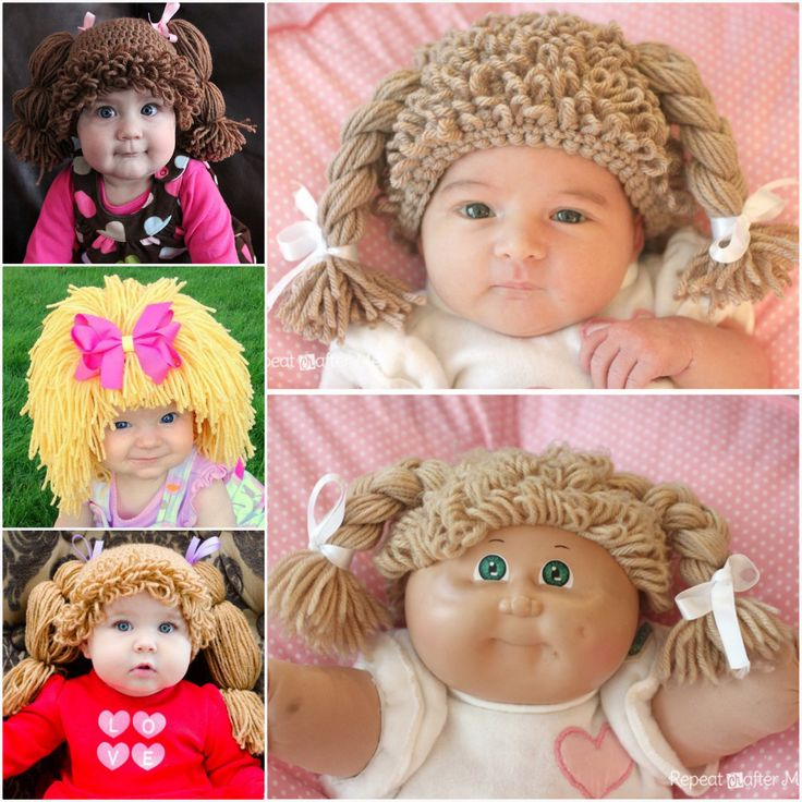 Cabbage Patch Hats FREE Crochet