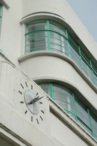 The Hoover Building on Western Ave in West London, designed by Wallis, Gilbert & Partners (1932-38).