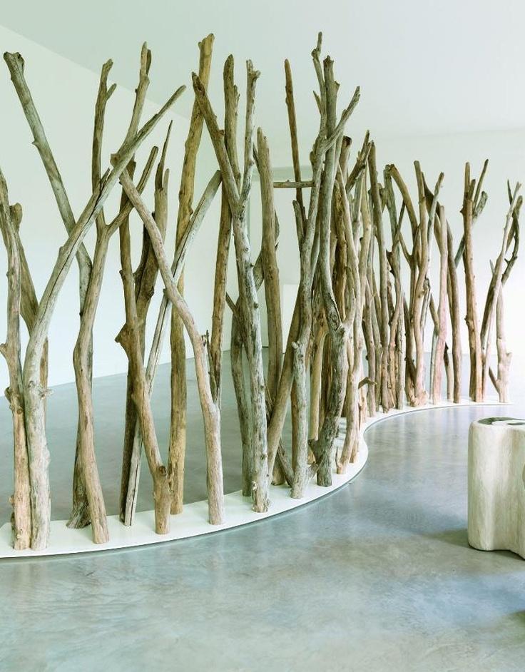 Garden partition TIKIBAQ by Bleu Nature #wood #outdoor #garden #design
