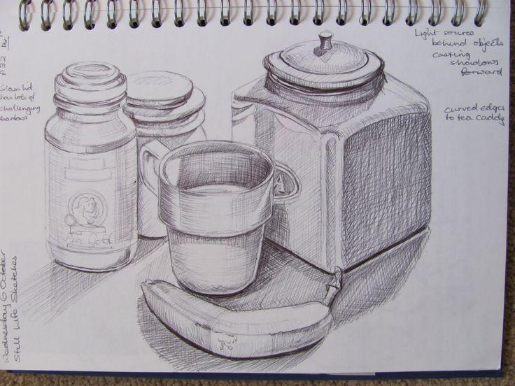 Barnett Newman | wegway  |Pencil Sketch Simple Object