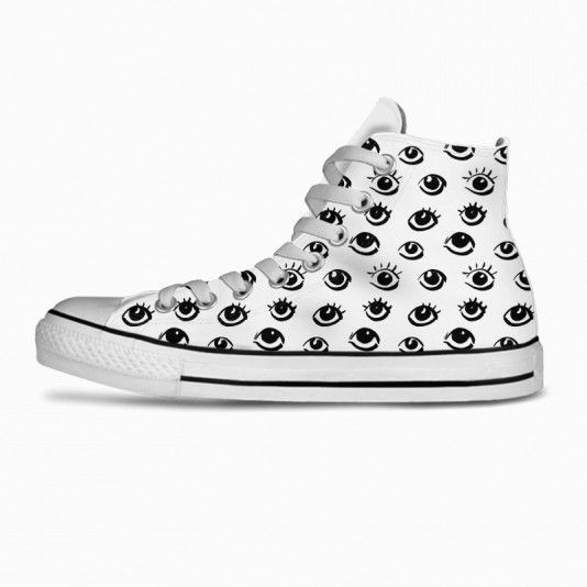 Eyes White  art | fashion | clothing | inspiration | contemporary | trendy | ideas | gifts | shoes