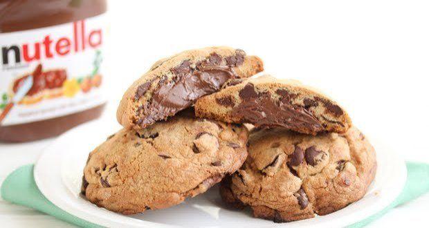 Cookie com Nutella