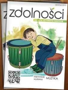 Pierwszy polski magazyn elektroniczny skierowany do rodziców, w całości poświęconym tematyce zainteresowań, pasji i zdolności dzieci.