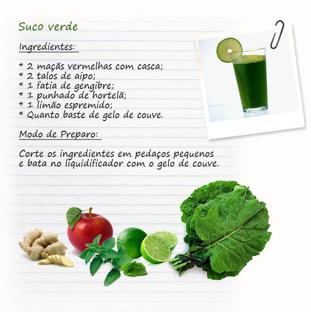 As propriedades do suco verde não param por aí. Rico em ferro, vitamina C, zinco magnésio, é um coquetel de vitaminas totalmente natural! Quem toma, percebe a diferença na disposição e de quebra, melhora a saúde do fígado.