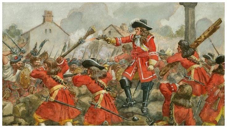 battle of boyne painting