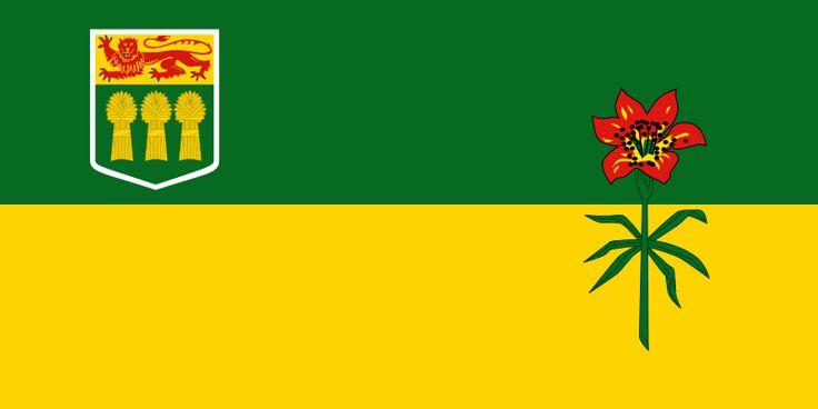 Flag of Saskatchewan, Canada
