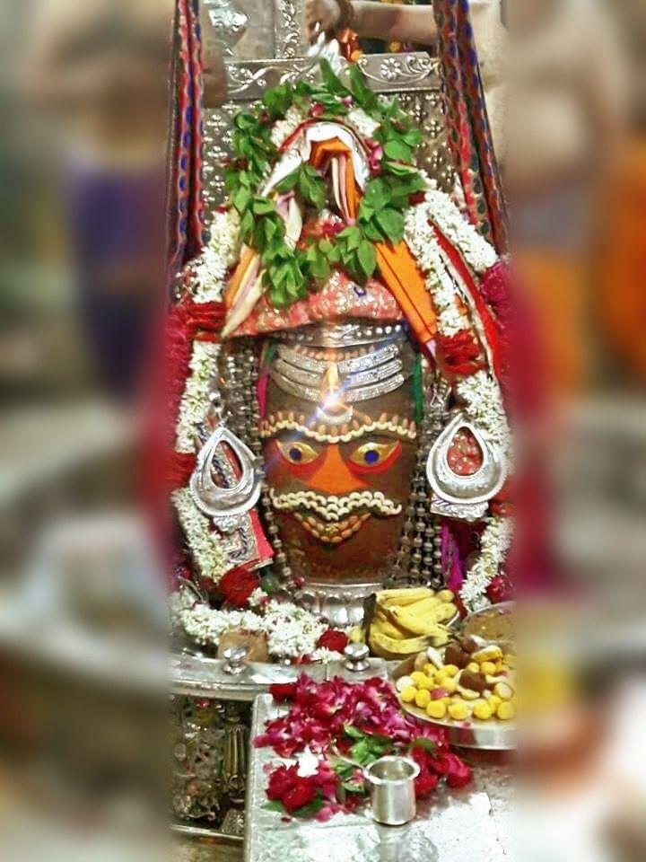 #Bhasma #Aarti pic of Shree #Mahakal #Ujjain - July 07  #god #shiv #shiva #shivay #bholenath #mahadev #mahakaleshwar #jyotirling #jaibholenath #jaimahakal #om #omnamahshivay #harharmahadev #ॐ #महाकाल #भस्म #आरती #शिव #महाकालेश्वर #उज्जैन #mptourism #madhyapradesh #tourism #travel #incredibleIndia