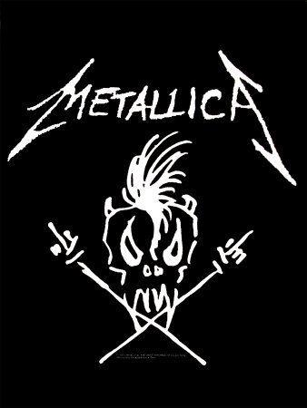 Metallica - Hetfield Design Póster en tela