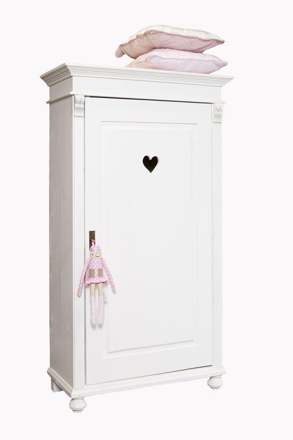 1-deurskast #brocante stijl | Kinderkamer in Stijl