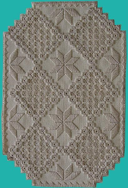 Hardanger - 1 Tapestry - Textile by Shirley Heyn - Hardanger - 1 Fine Art Prints and Posters for Sale