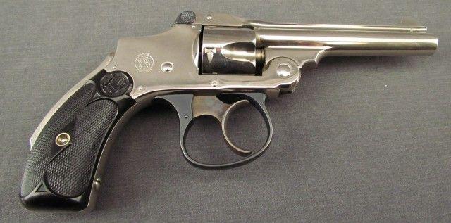 S&W 2nd Model  32 Safety Hammerless Revolver | Smith