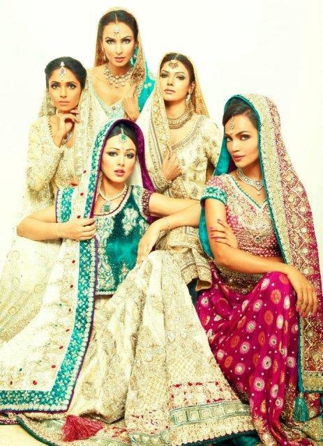 Girls in lehengas and anarkali, they're gorgeous