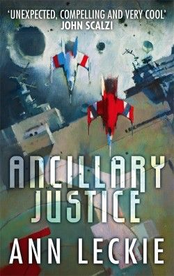 Availability: http://130.157.138.11/record=b3852805~S13 Ancillary justice / Ann Leckie. Now isolated in a single frail human body, Breq, an artificial intelligence that used to control of a massive starship and its crew of soldiers, tries to adjust to her new humanity while seeking vengeance and answers to her questions.