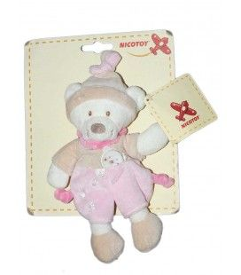 doudou-ours-beige-rose-nicotoy-5790160-22-cm