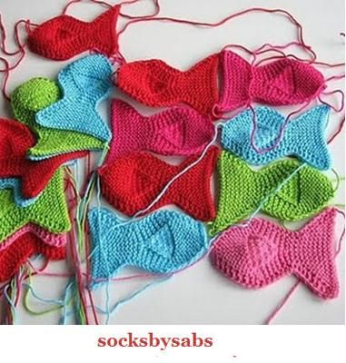 FREE FISH KNITTING PATTERN