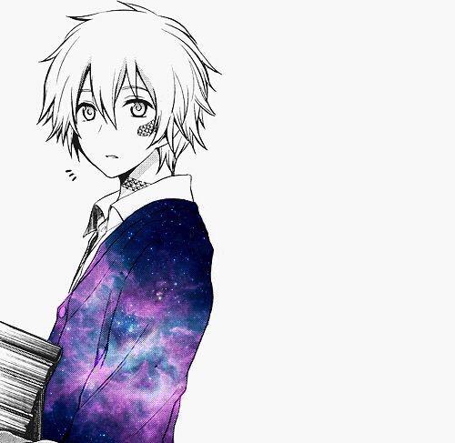 anime, anime boy, anime girl, colorful, galaxy - image #3604772 by ...