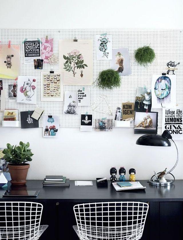 8 façons d'utiliser des panneaux perforés - French By Design