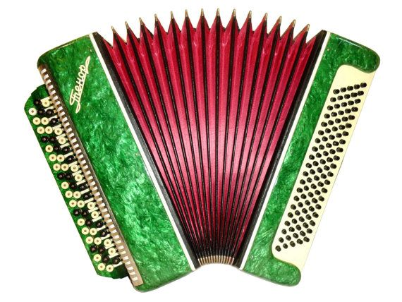 Accordion Instrument Russian Button Bayan Tenor by Harmony4Life