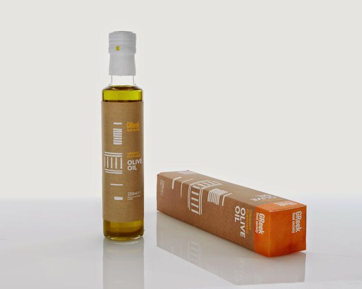 Greek Food Society  Orange Flavored Extra Virgin Olive Oil