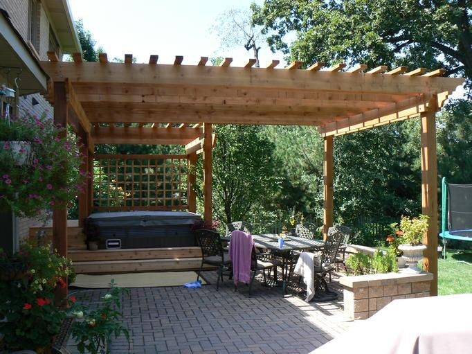 46 best pergola kits images on cedar pergola pergola kits and pergola plans