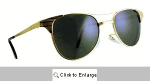Wings Metal Clubmasters Sunglasses - 178 Gold