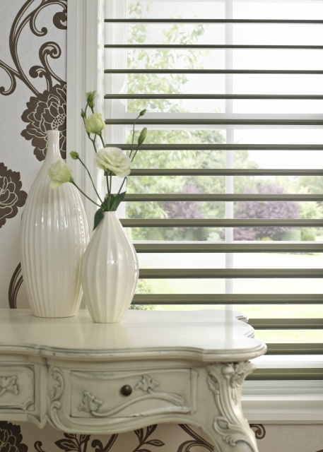 Silhouette Blinds Allow Control Of Light And Privacy While